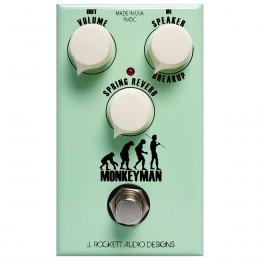 Pedal reverb y overdrive para guitarra J. Rockett Audio Designs Monkeyman