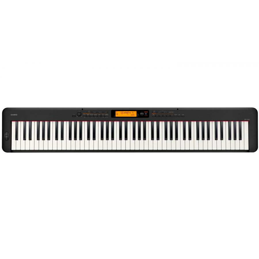 Piano digital compacto Casio CDP-S350 BK
