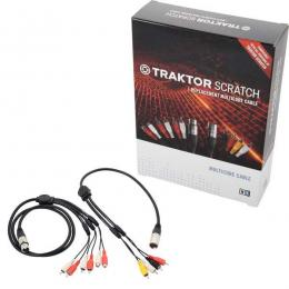 Kit de cables DJ Traktor Scratch Native Instruments Traktor Multicore Mix