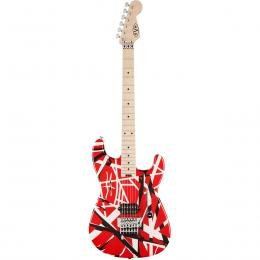 Guitarra eléctrica EVH Striped Series Red w/Black Stripes