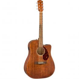 Guitarra acústica dreadnought Fender CD-60SCE All-Mah Satin FSR