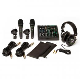 Pack para podcast y cantantes Mackie Performer Bundle