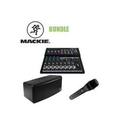 Pack vocalistas Mackie Bundle - Mix12FX + EM-89D + FreePlay Go