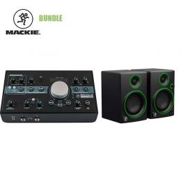 Pack estudio grabación Mackie Bundle - Big Knob Studio + CR4