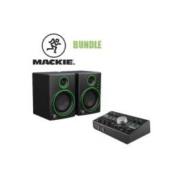 Pack estudio grabación Mackie Bundle - Big Knob Studio + CR4BT