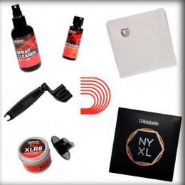 Pack para guitarristas Planet Waves Pack Productos Mantenimiento + NYXL 10-46