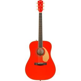 Guitarra electroacústica Fender LTD PM-1 Dreadnought FRD