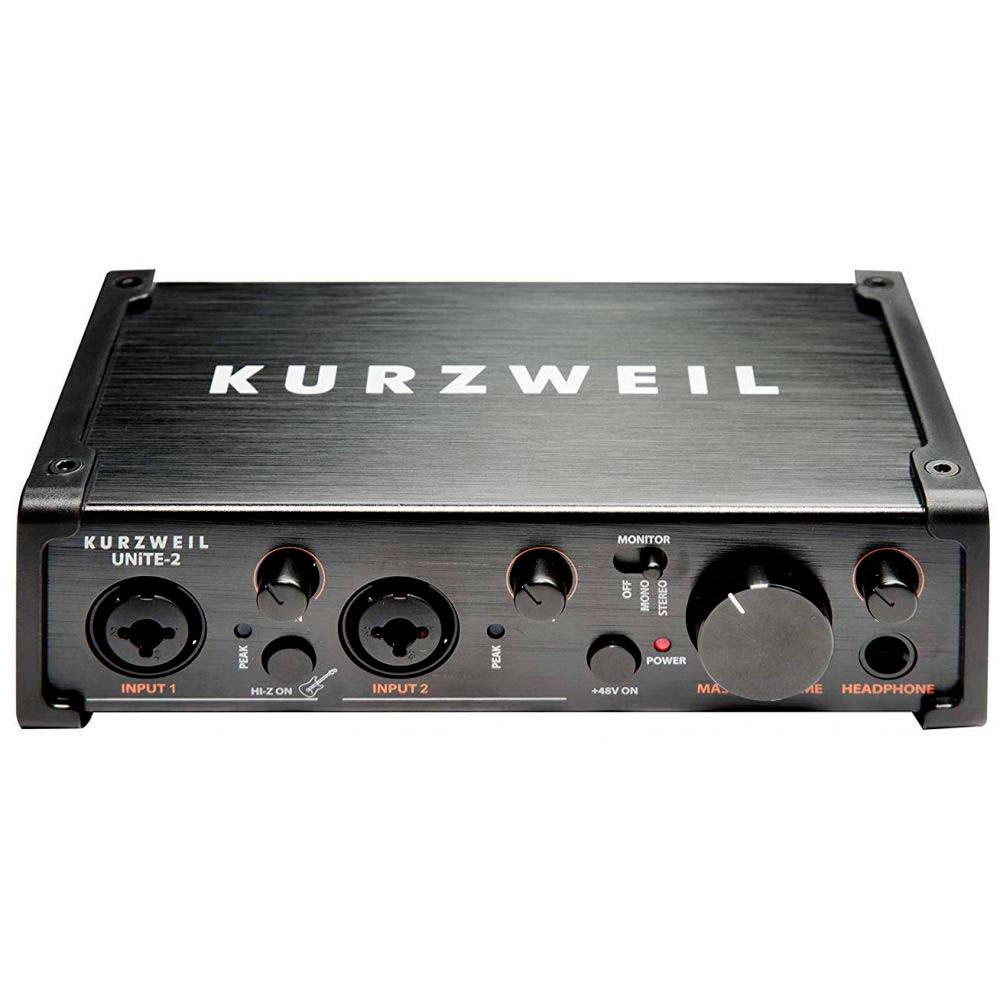 Interface de audio Kurzweil Unite 2