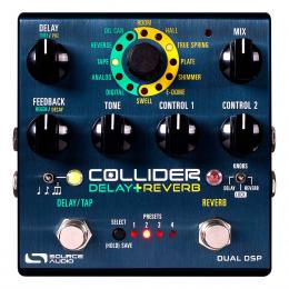 Pedal de efectos Source Audio SA263 Collider Delay+Reverb