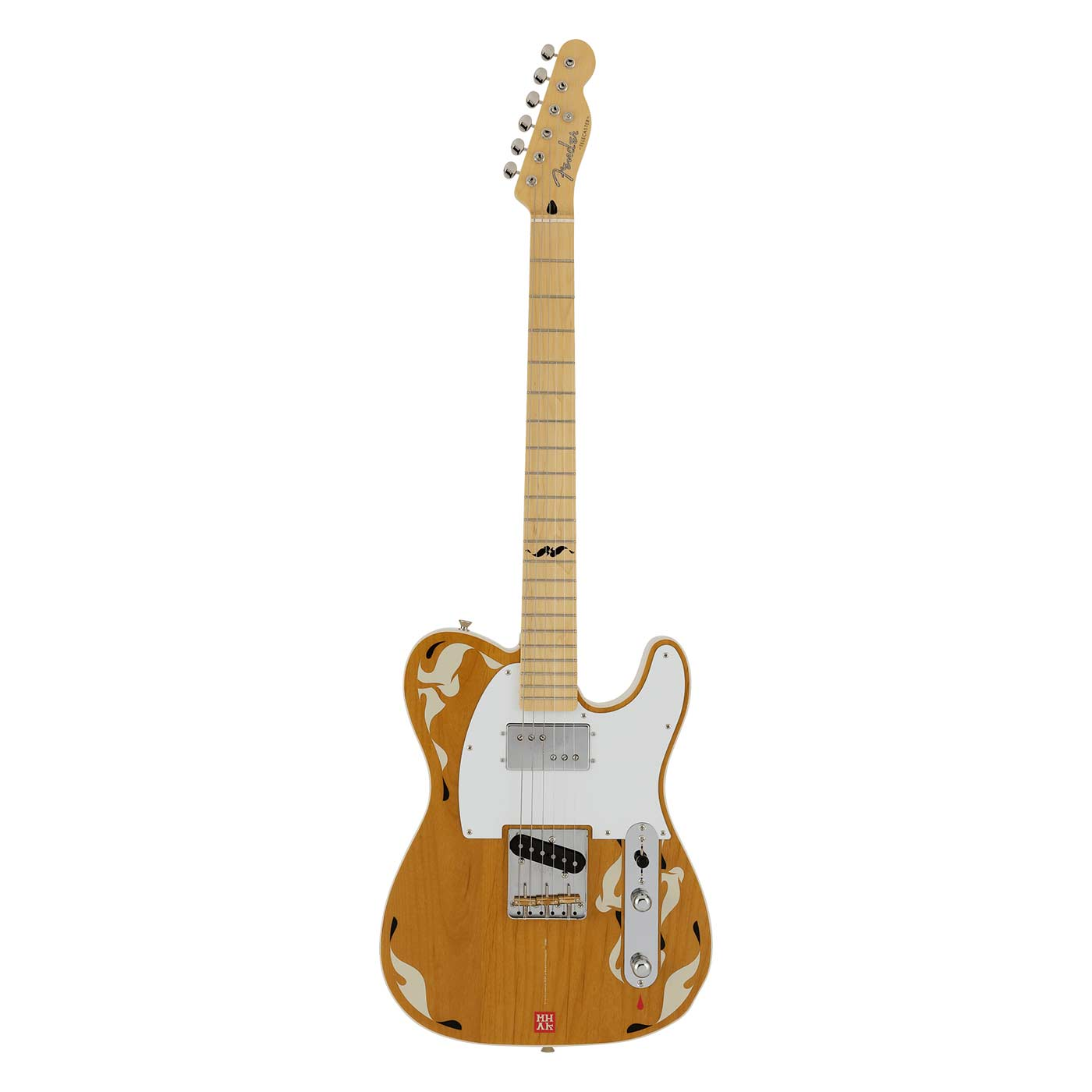 Guitarra eléctrica Fender MIJ Art Gallery Collection Telecaster MHAK Limited
