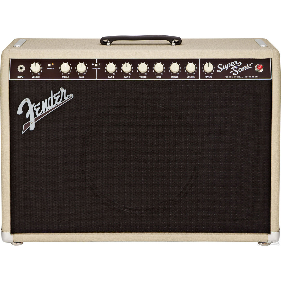 Fender Super-Sonic 22 Combo Blonde - Amplificador guitarra