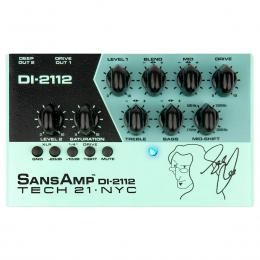 Previo para bajo Tech 21 Geddy Lee Signature Sansamp DI-2112