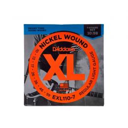 D'Addario EXL1107 - XL Regular Light 7-String - 7 cuerdas