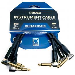 Cables patch para pedales Boss BIC-PC-3