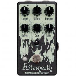 Pedal reverb guitarra EarthQuaker Devices Afterneath V3