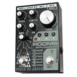 Pedal reverb digital Death By Audio Rooms Stereo Reverberator