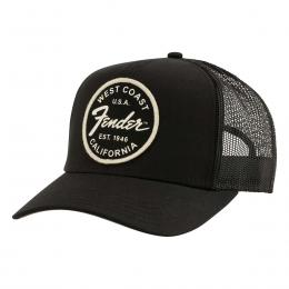 Gorra Fender West Coast Trucker Hat Black