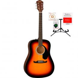 Guitarra acústica Fender FA-125 Dreadnought Pack WN SB