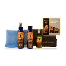 Set limpieza guitarra Music Nomad Premium Guitar Care System MN108