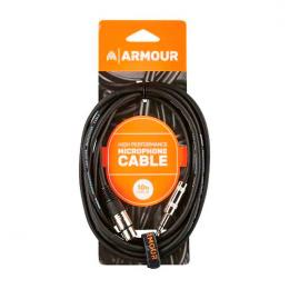 Cable cannon micrófono Armour CJP10 XLR-Jack High Performance 3m