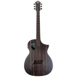 Guitarra electroacústica Michael Kelly Forte Port Exotic Ziricote