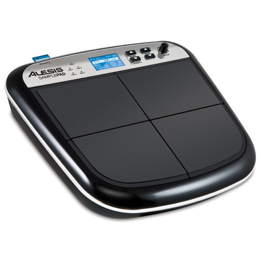 Alesis Sample Pad - Superficie de percusión con 4 pads