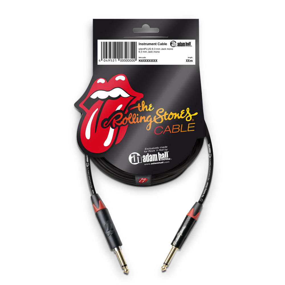 Adam Hall The Rolling Stones K6IPP0900SP - Silent Jack 9m