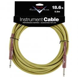 Fender Custom Shop Cable 5.5m 18Ft Tweed - Cable jack