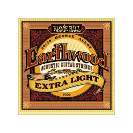 Cuerdas Ernie Ball 2006 Earthwood Extra Light (010-014-020-028-040-050).