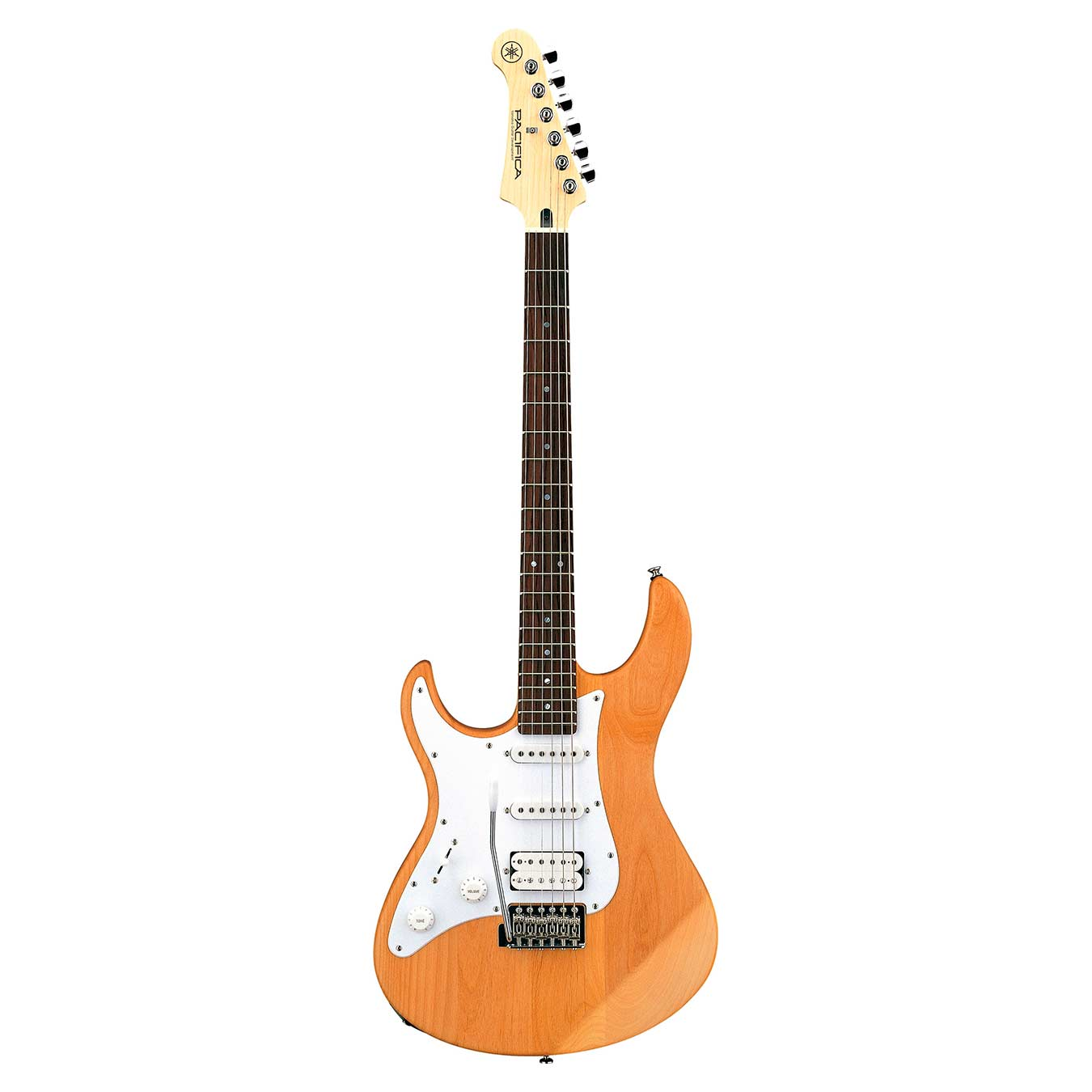 Guitarra eléctrica para zurdos Yamaha Pacifica 112JL Yellow Natural Satin