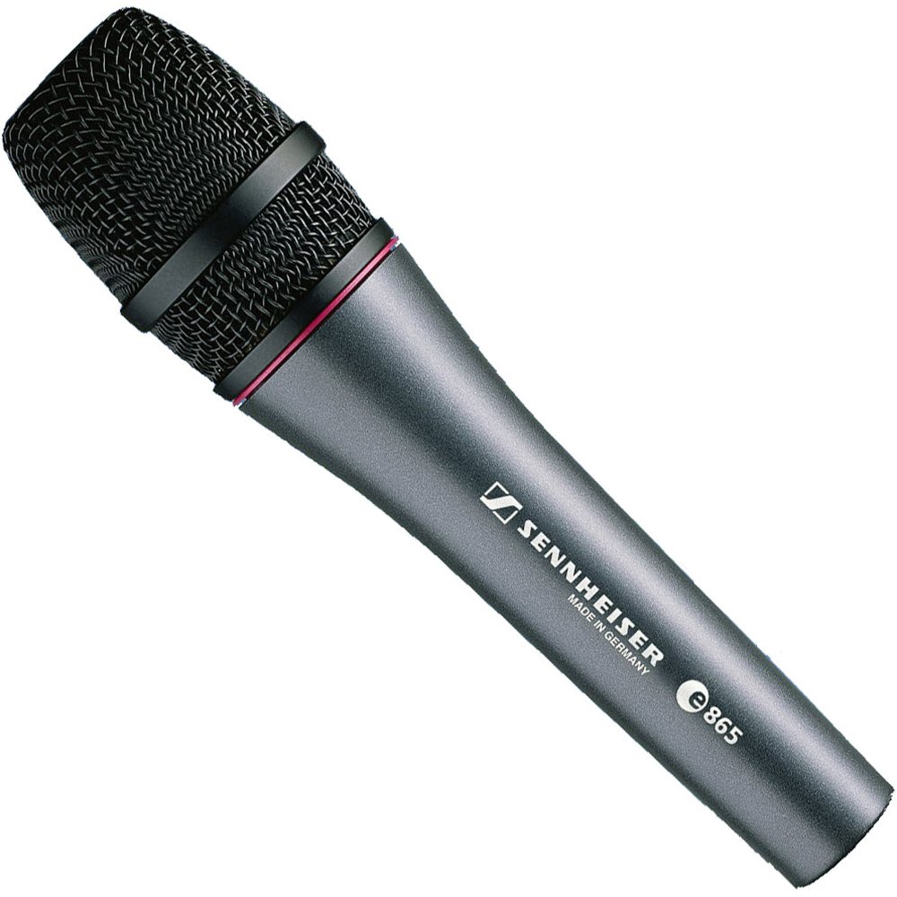 Sennheiser Evolution e865 - Micrófono condensador vocal