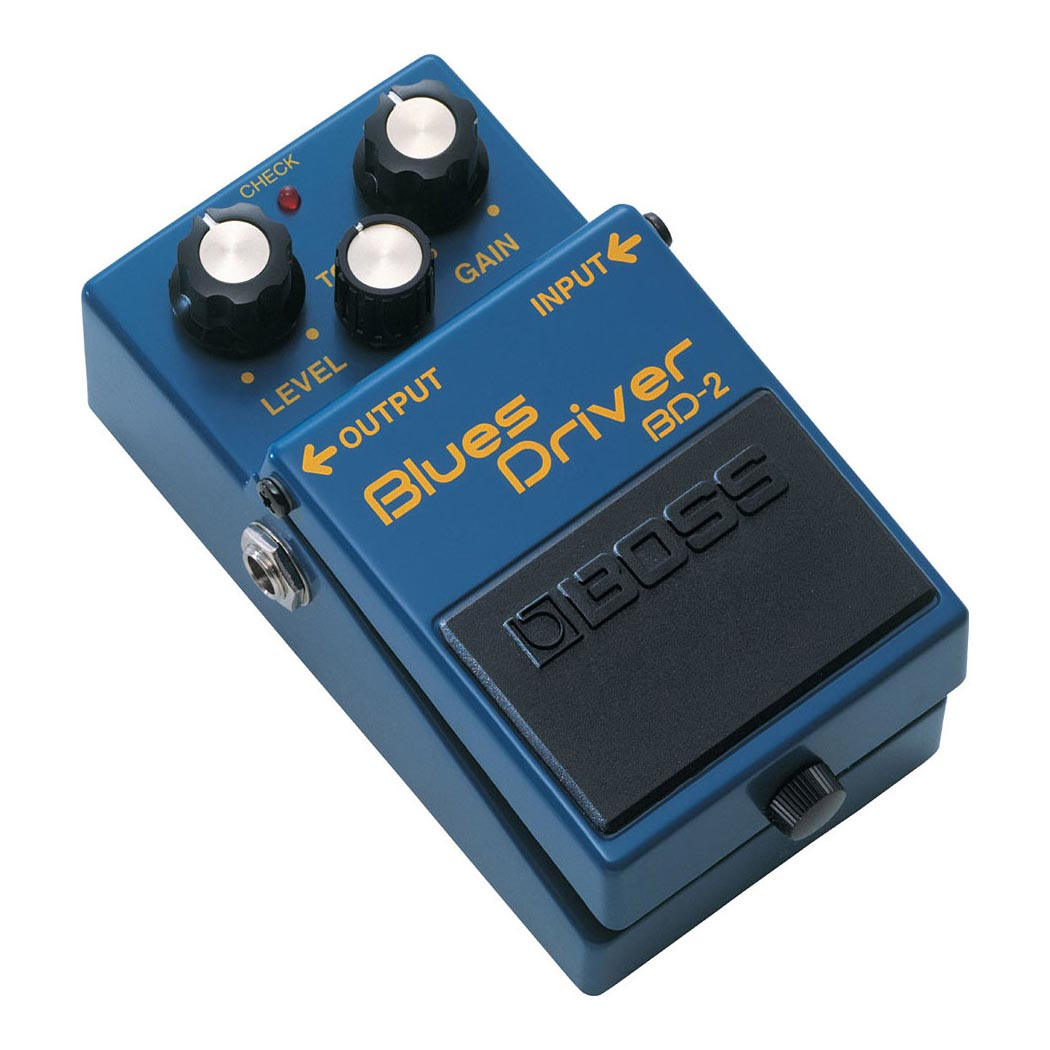 Boss Blues Driver BD-2 - Pedal overdrive valvulas