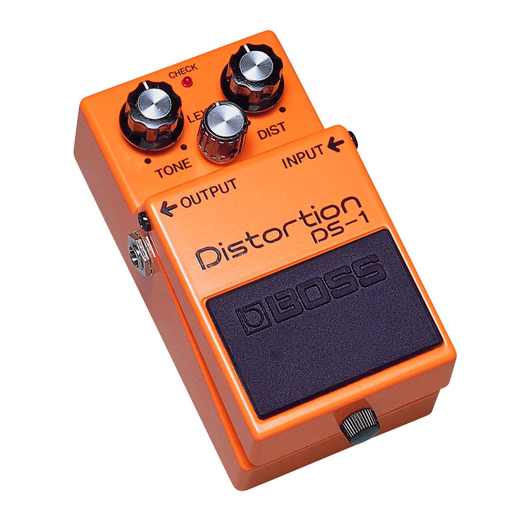Boss Distortion DS-1 - Pedal distorsioón clásico