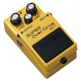 Boss Super Overdrive SD-1 - Pedal distorsión valvulas