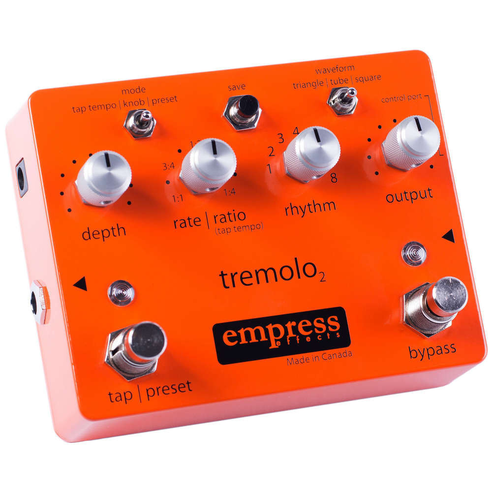 Empress Effects Tremolo 2 - Pedal efectos guitarra