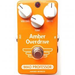 Mad Professor Amber Overdrive - Pedal overdrive fuzz guitarra