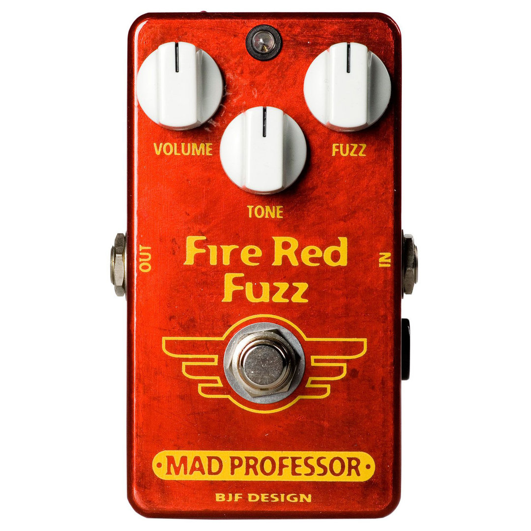 Mad Professor Fire Red Fuzz - Pedal fuzz guitarra eléctrica