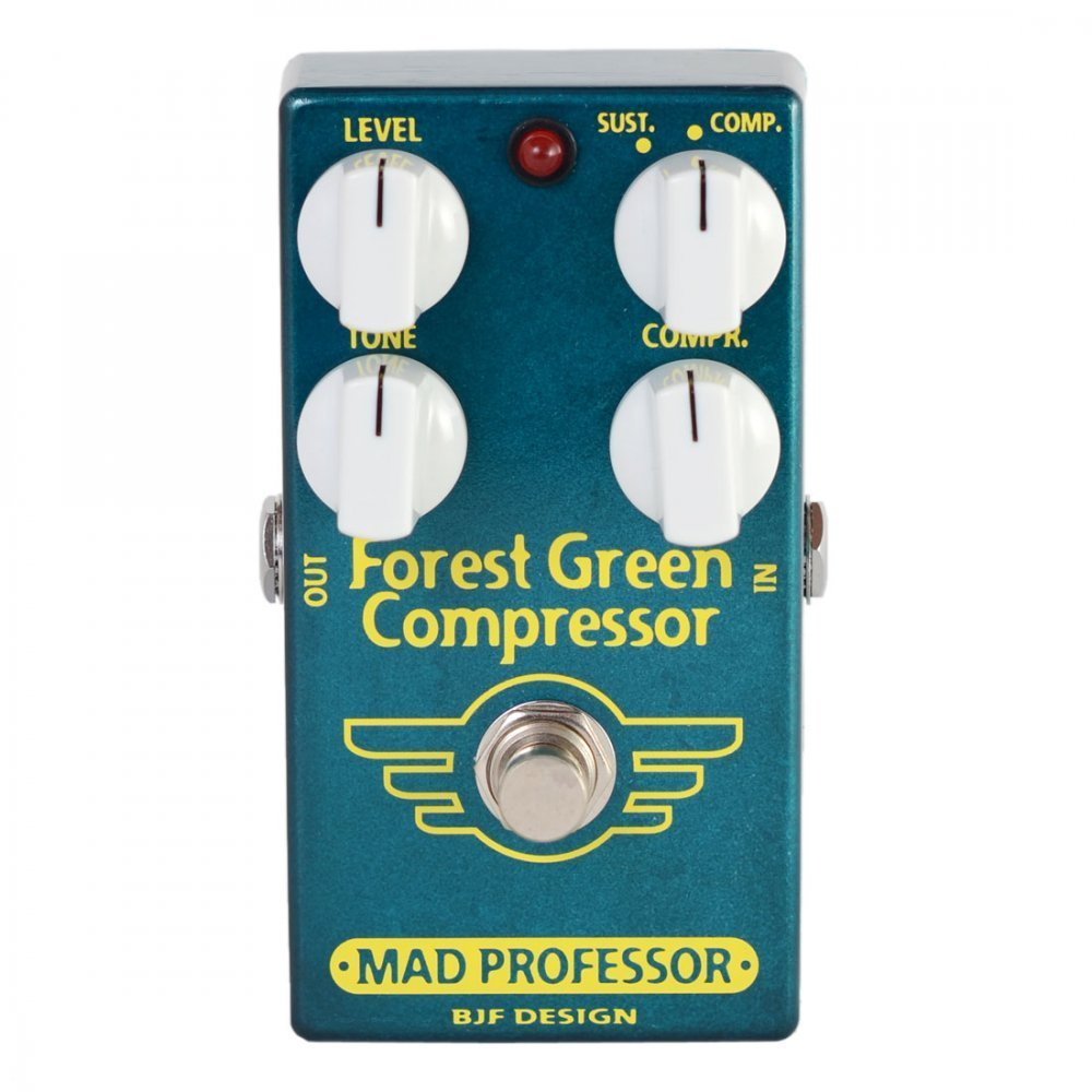Mad Professor Forest Green Compressor - Pedal compresor