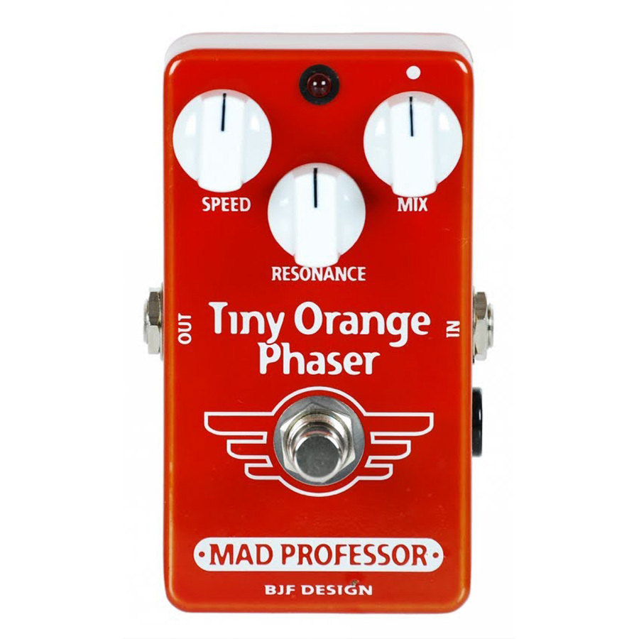 Mad Professor Tiny Orange Phaser - Pedal modulación guitarra