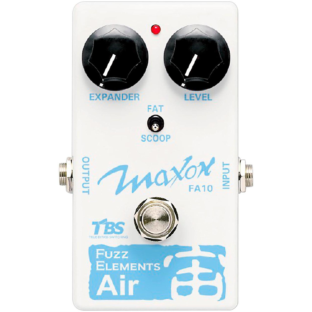 Maxon FA-10 Fuzz Elements Air - Pedal efecto Guitarra Eléctrica