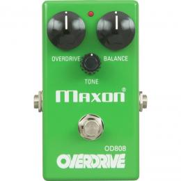 Maxon OD-808 Overdrive - Pedal Guitarra Eléctrica Booster