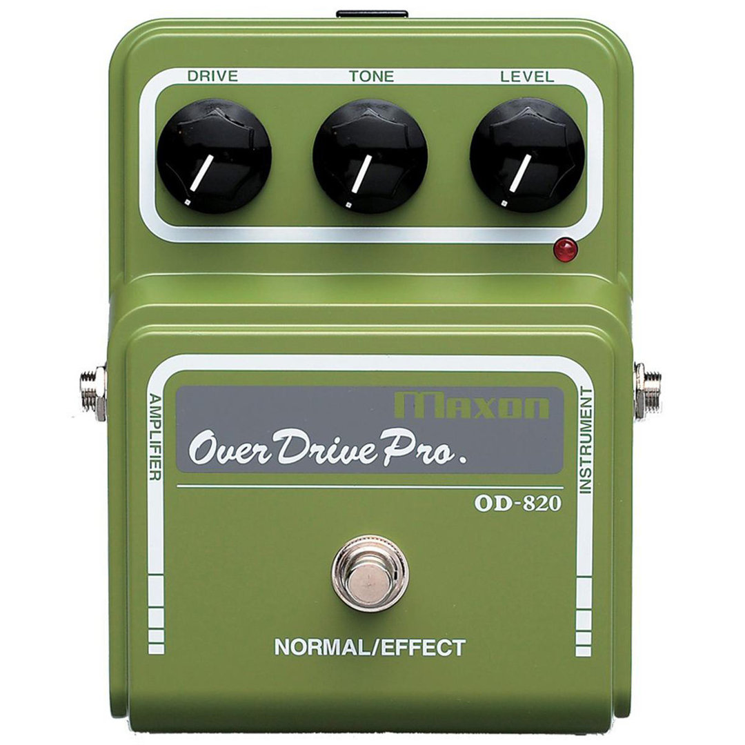 Maxon OD-820 Overdrive Pro - Pedal Guitarra eléctrica booster