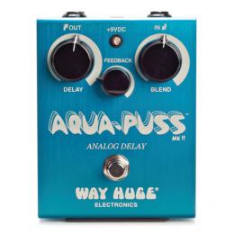 Way Huge Aqua Puss Analog Delay - Pedal delay guitarra analógico