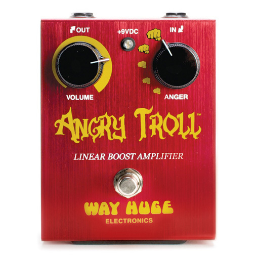 Way Huge Angry Troll Boost - Pedal Booster Guitarra Eléctrica