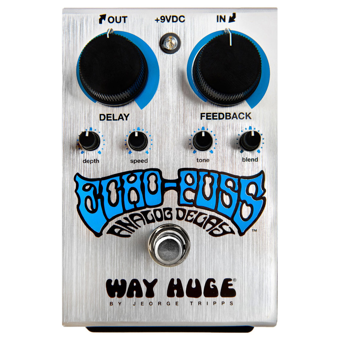 Way Huge Echo Puss Analog Delay - Pedal Delay Modulación
