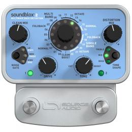 Pedal de distorsión para bajo Source Audio Soundblox 2 Multiwave Bass Distortion
