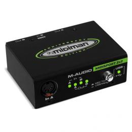 M-Audio USB Midisport 2x2 - Interfaz midi usb