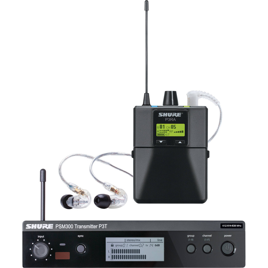 Shure P3TRA215CL