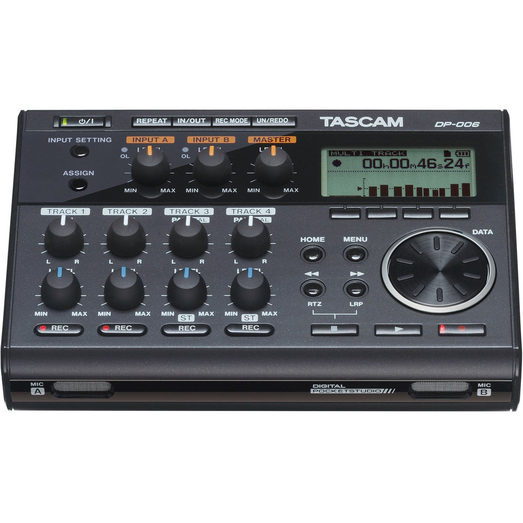 Tascam DP-006 Digital Pocketstudio - Multipistas digital