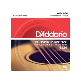 D'Addario EJ24 Phosphor Bronze True Medium